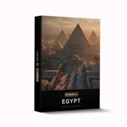 دانلود صحنه آماده بناهای مصر باستان