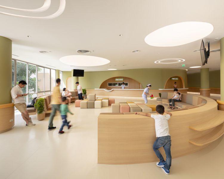 معماری بیمارستان اطفال