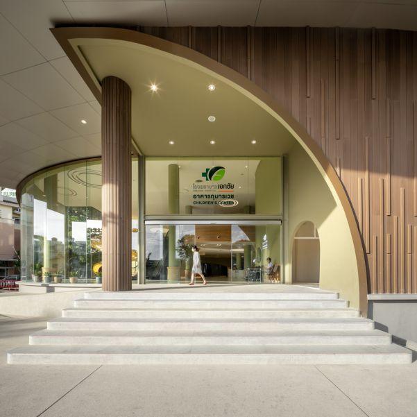 طراحی بیمارستان تخصصی کودکان