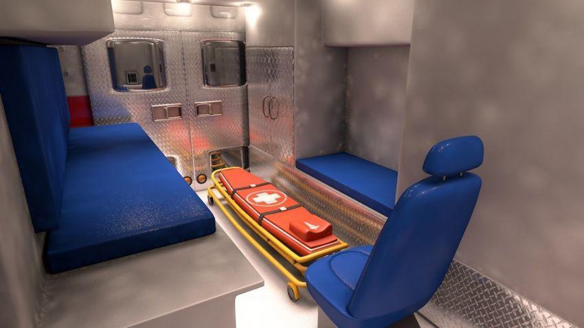مدل سه بعدی وسایل نقلیه اضطراری