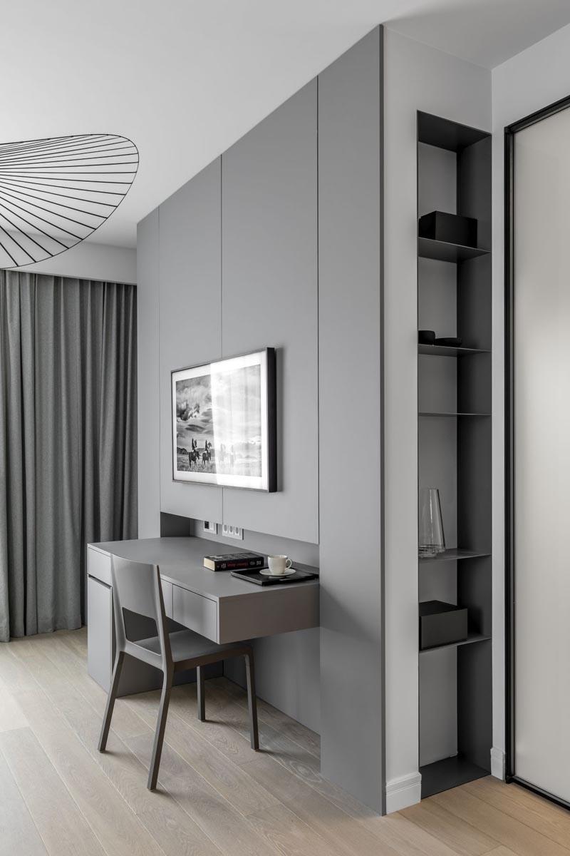 رنگ خاکستری در دکوراسیون آپارتمان