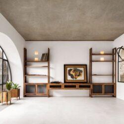 طراحی خانه با پنجره های دایره ایی شکل