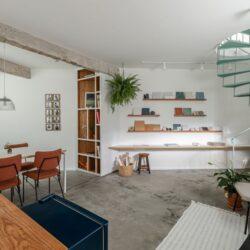 طراحی داخلی دفتر کار معماری در برزیل