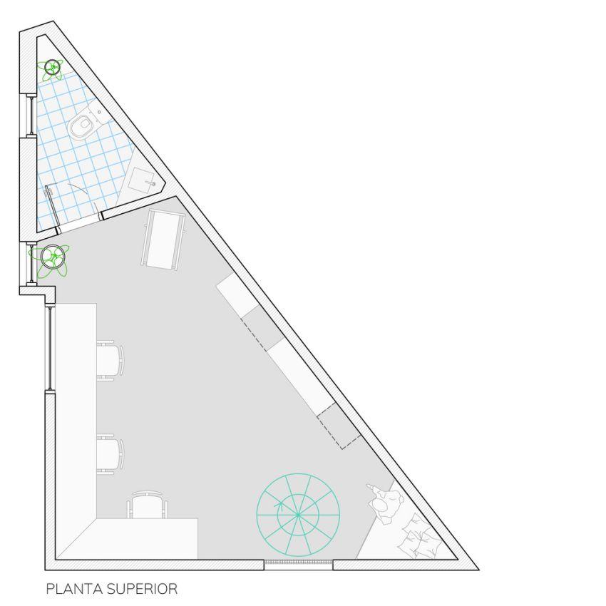 پلان دفتر کار معماری