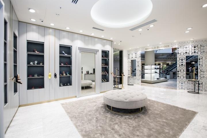 طراحی داخلی فروشگاه لوکس