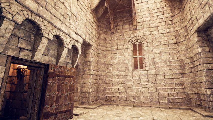 دانلود صحنه آماده قلعه قرون وسطایی