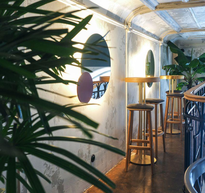 سبک آسیایی در طراحی کافه