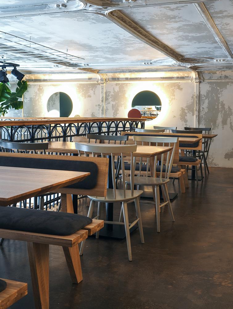 طراحی داخلی کافه با سبک آسیایی