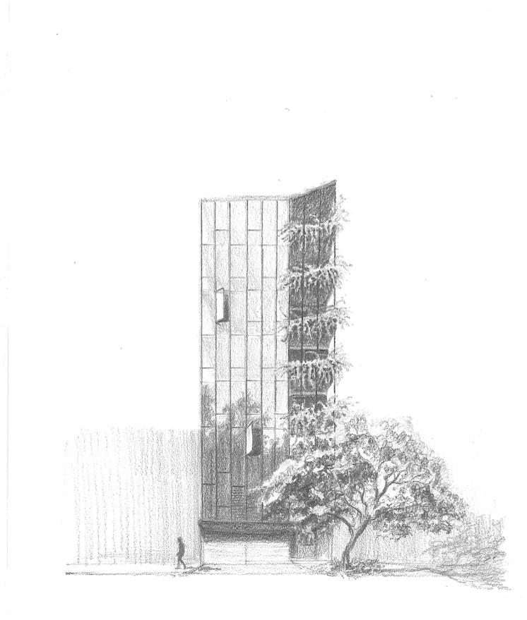 پلان ساختمان اداری