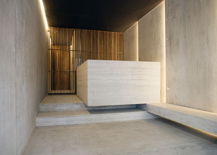 طراحی نمای ساختمان اداری در مکزیک
