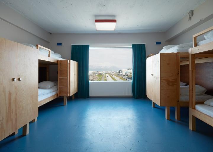 طراحی داخلی هتل با رنگ های شارپ