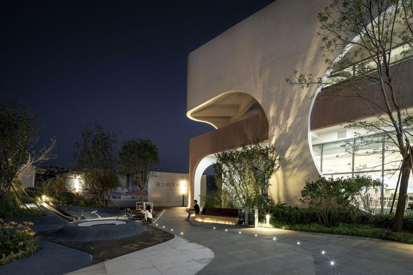 معماری رستوران ساحلی