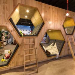 طراحی فروشگاه کتاب در کلمبیا