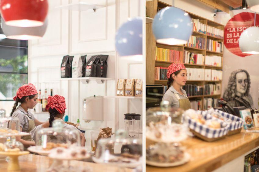 طراحی داخلی فروشگاه کتاب