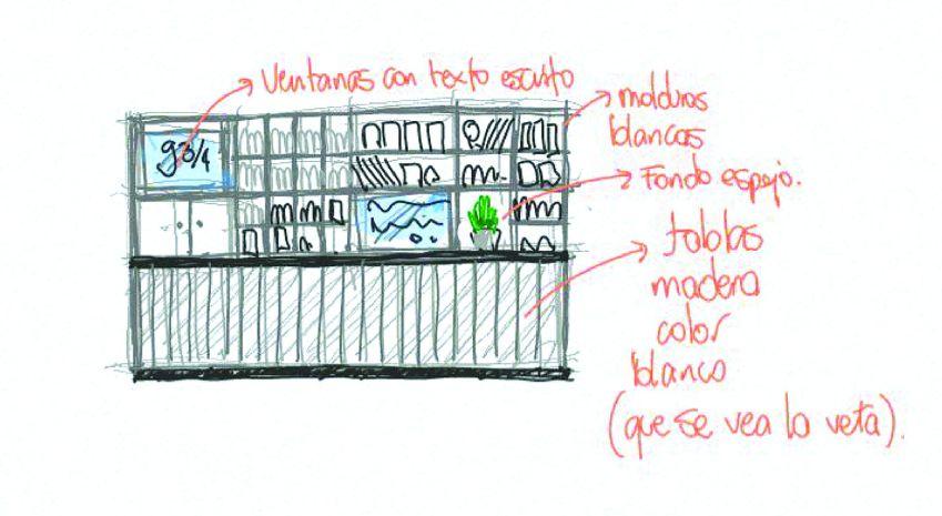 پلان کتابفروشی