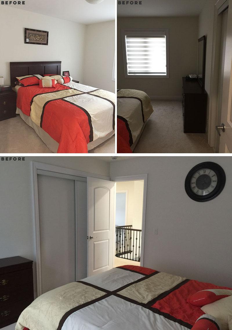 قبل و بعد از بازسازی اتاق کودک