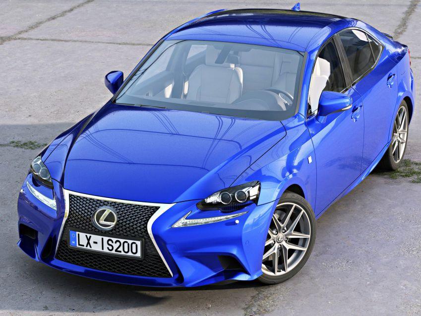 مدل سه بعدی اتومبیل مدرن