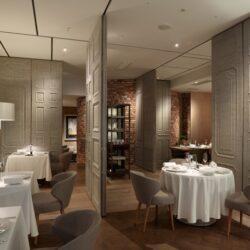طراحی رستوران با دیوارهای متحرک