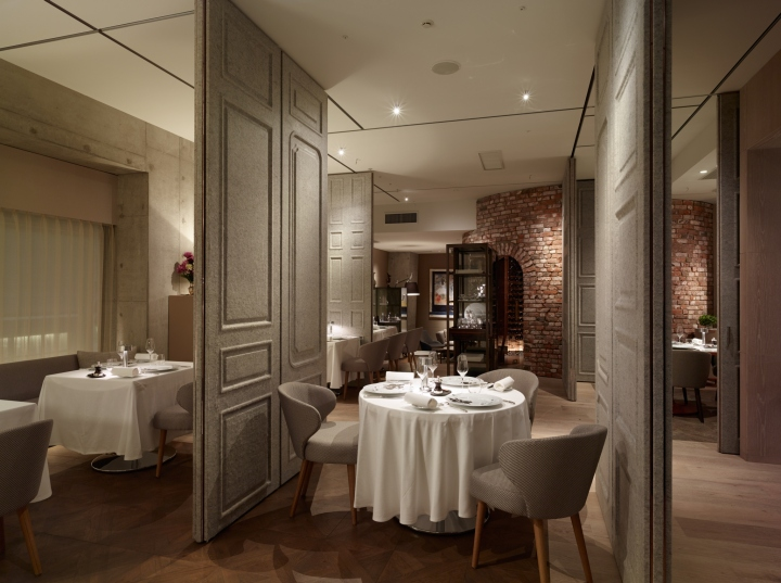 دیوار های متحرک برای رستوران