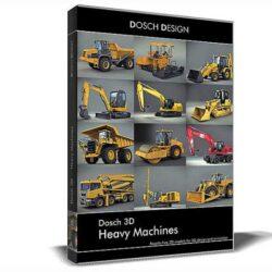 مدل سه بعدی ماشین آلات سنگین از DOSCH DESIGN