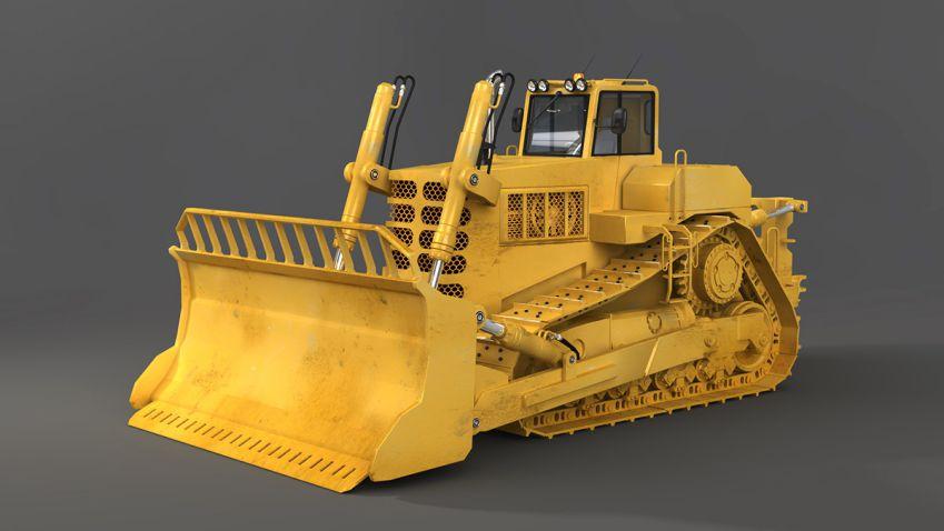 آبجکت ماشین آلات سنگین و صنعتی