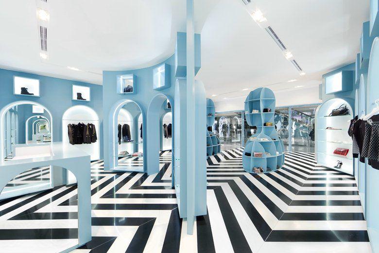 طراحی داخلی بوتیک لباس