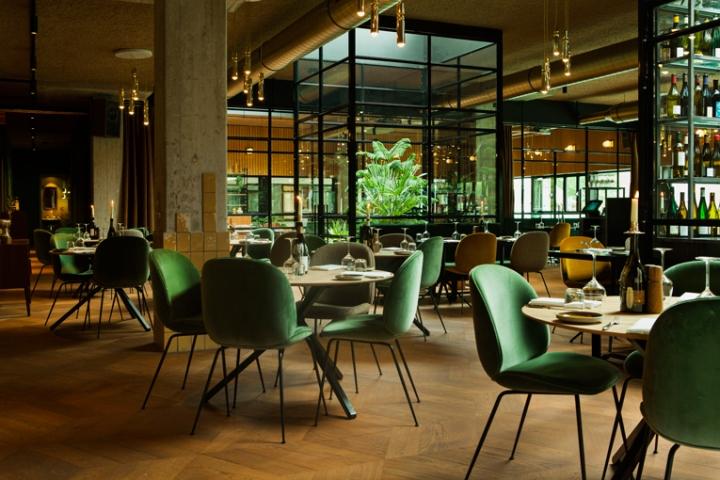 طراحی هتل با دکوراسیون سبز