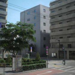 آبجکت ساختمان ژاپنی