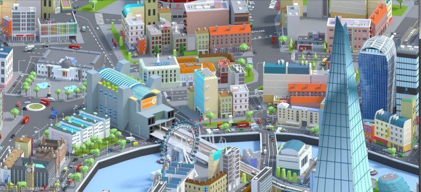 دانلود مدل سه بعدی شهر لندن