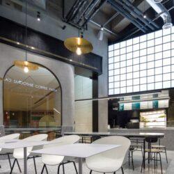 طراحی کافه رستوران مدرن در چین