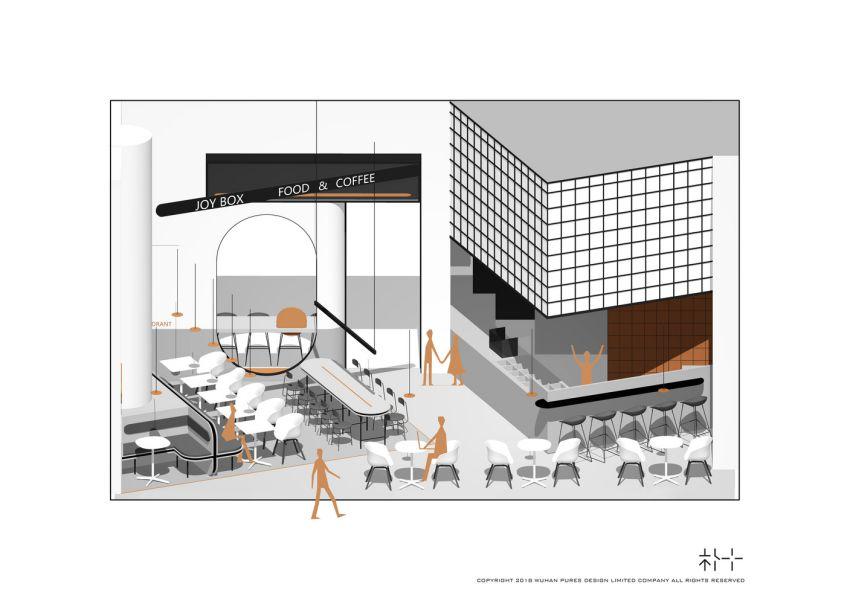 پلان کافه رستوران