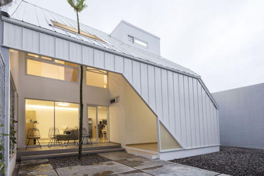 طراحی خانه کوچک با معماری اسلامی مدرن