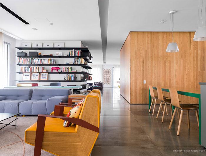 طراحی خانه لوکس با پلان باز
