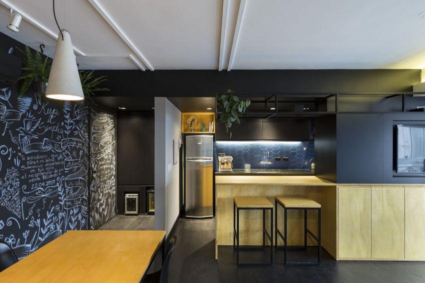 طراحی آپارتمان 64 متری
