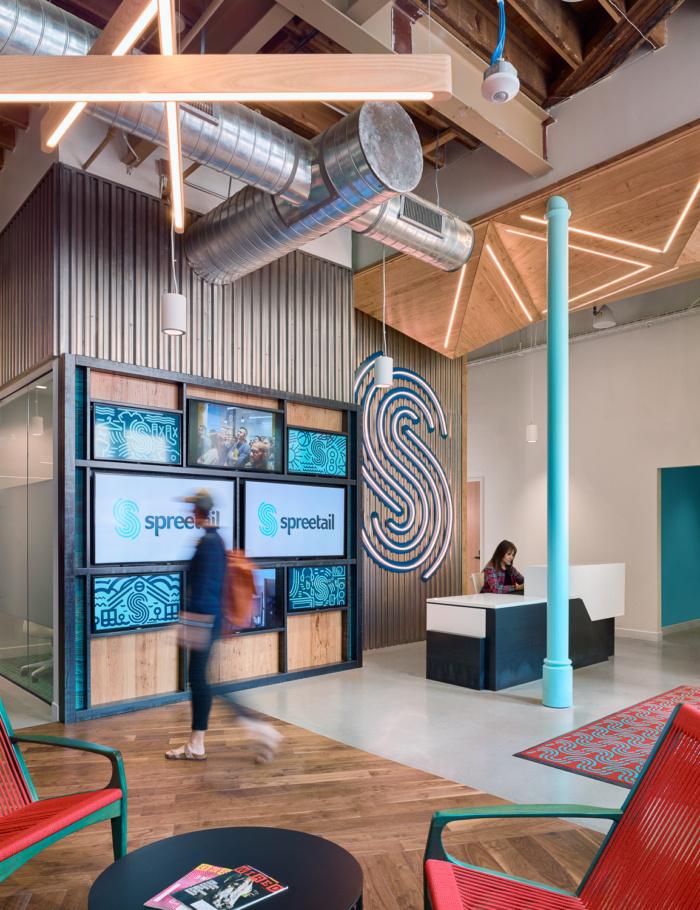 طراحی دفتر کار شرکت الکترونیکی