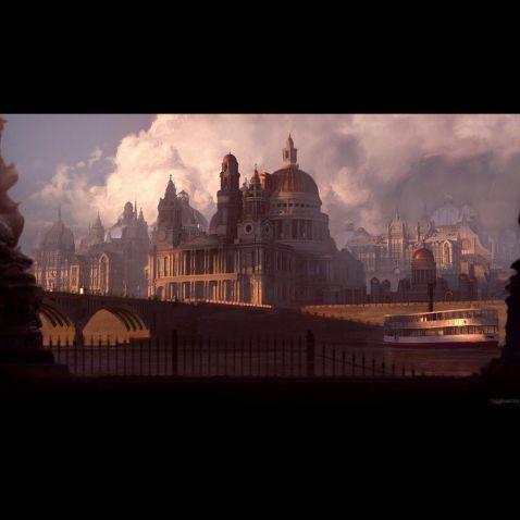 دانلود صحنه آماده بناهای سلطنتی