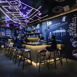 طراحی بوتیک هاستل در سنگاپور
