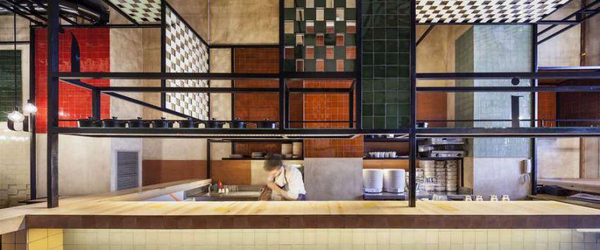 طراحی رستوران با کانسپت ویژگی کاتالان