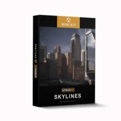 مدل سه بعدی ساختمان شهری
