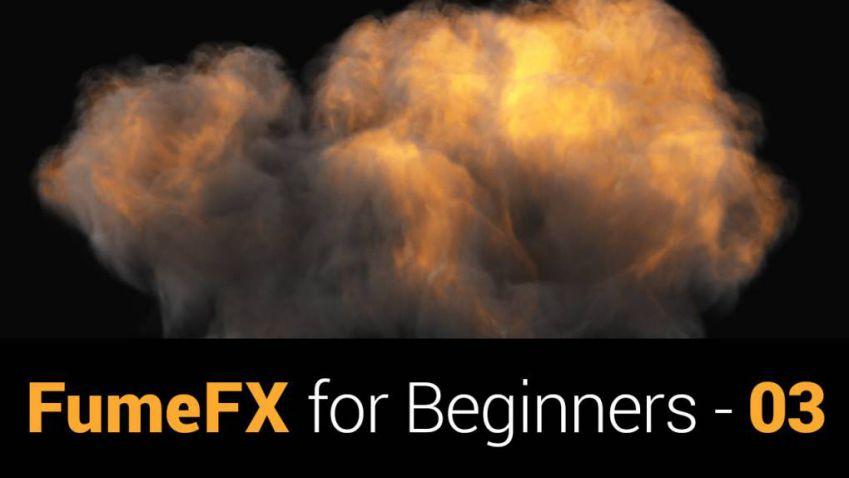 آموزش پلاگین FumeFX برای 3DS Max