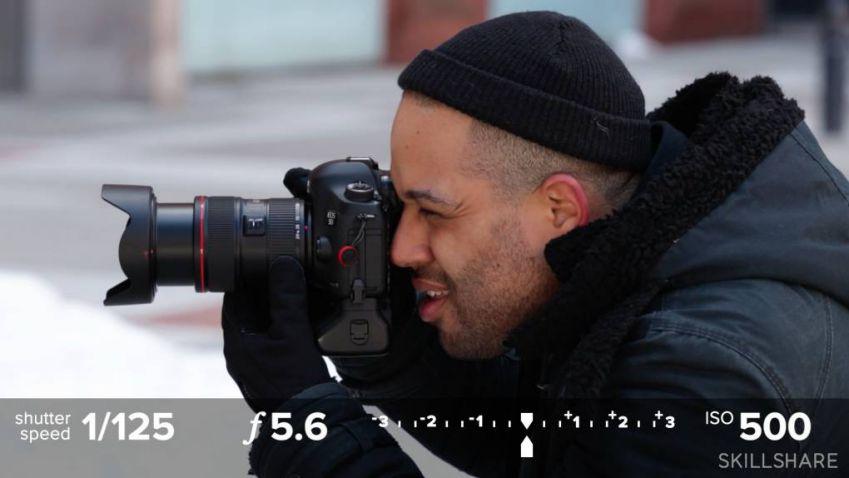 آموزش اصول عکاسی حرفه ایی با دوربین های DSLR