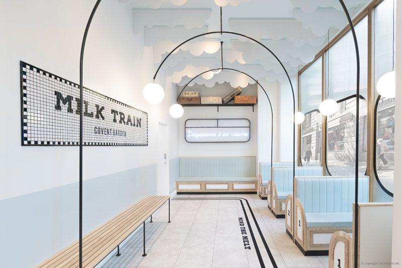 طراحی کافه بستنی
