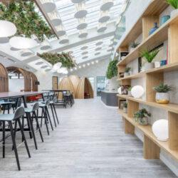 طراحی دفتر کار مدرن در لندن