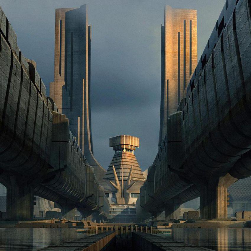 دانلود آبجکت ساختمان مدرن