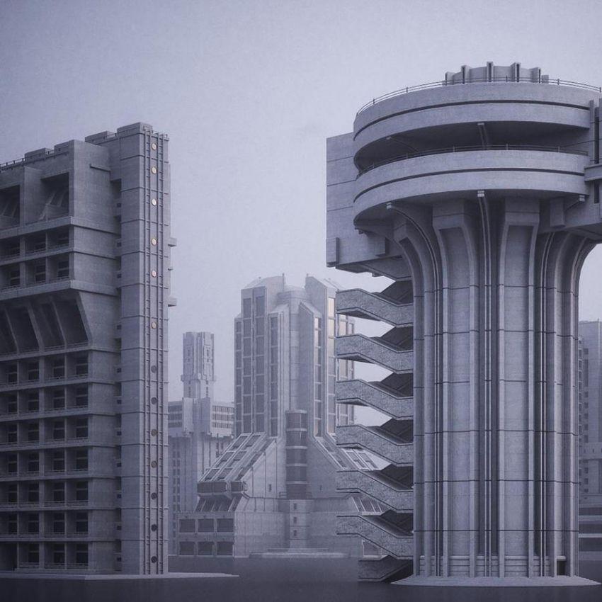 دانلود مدل سه بعدی ساختمان مدرن