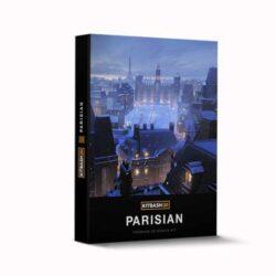 مدل سه بعدی اجزای شهری به سبک پاریسی