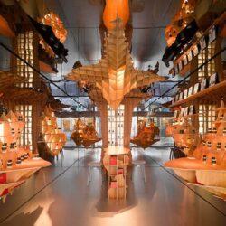 طراحی فروشگاه عطر در پاریس