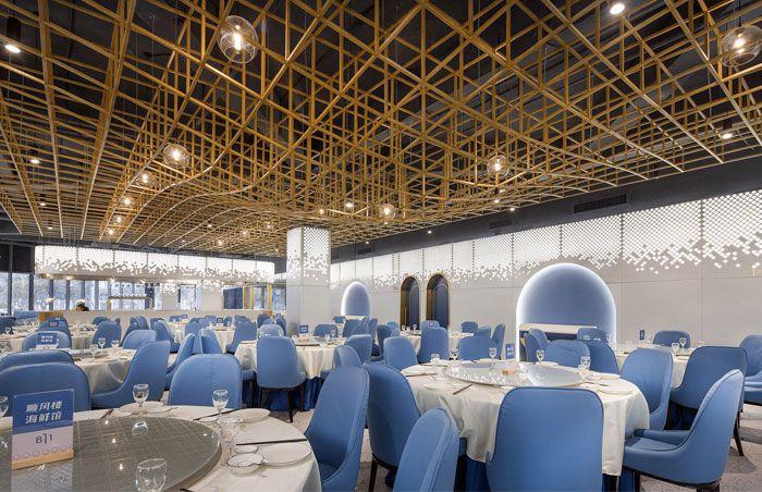 دکوراسیون داخلی رستوران دریایی