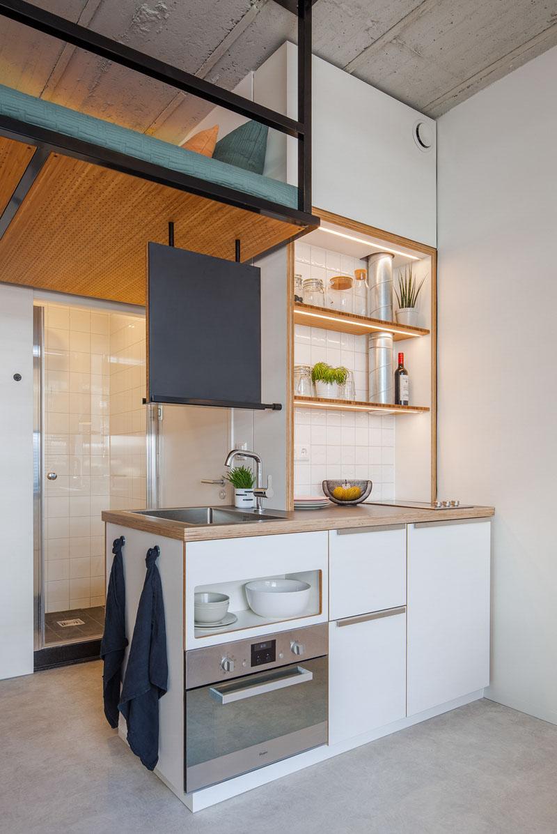طراحی آپارتمان دانشجویی