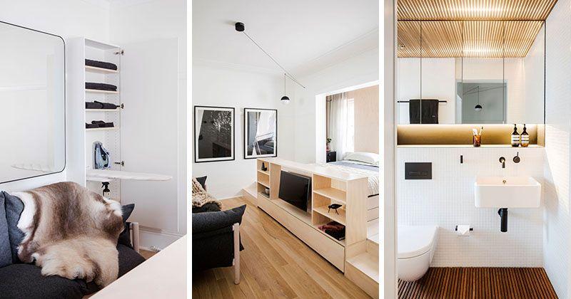 طراحی استودیو آپارتمان